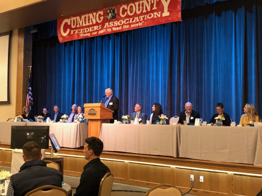 Cuming County Feeders Banquet – April 27