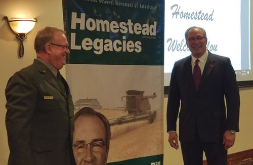 Bill Moos, University of Nebraska-Lincoln Director of Athletics, Joins Other Notable  Americans in Homestead Legacy Banner Series