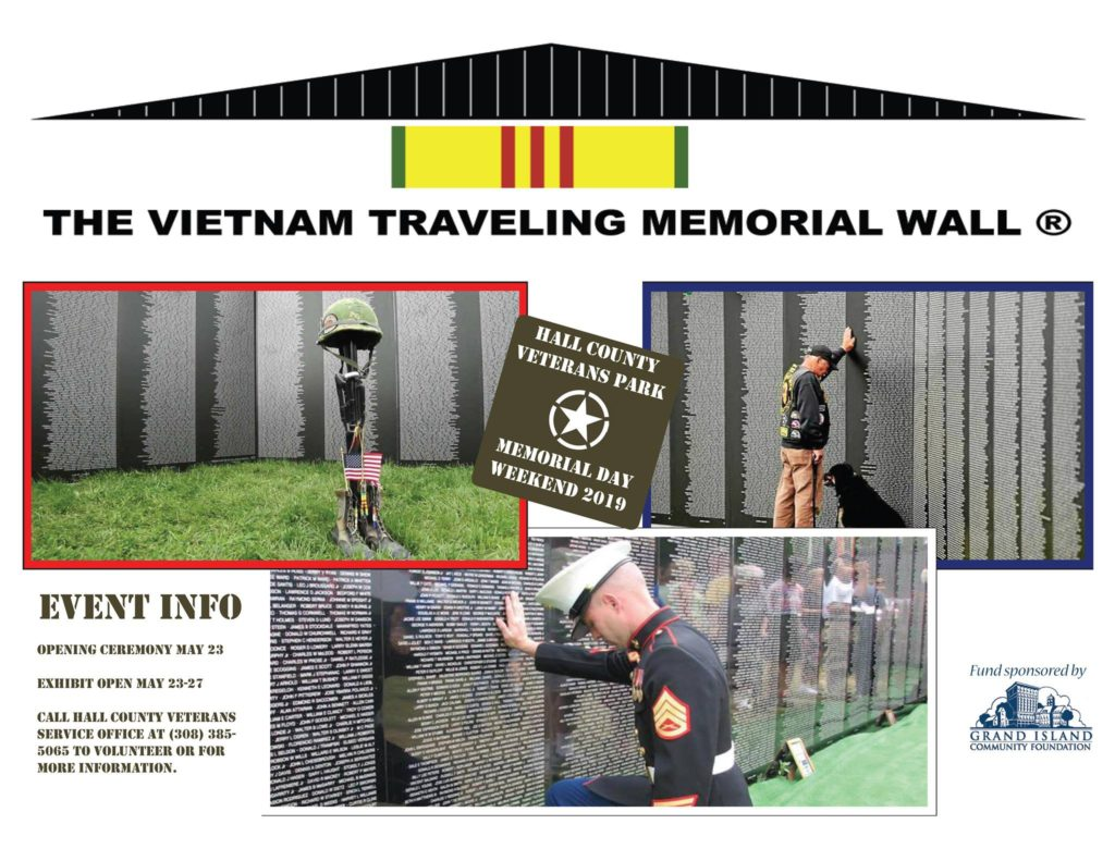 American Veterans Traveling Tribute Wall Coming to Grand Island