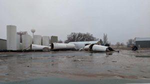Storage tank failures release 200,000+ gallons of fertilizer in Hemingford