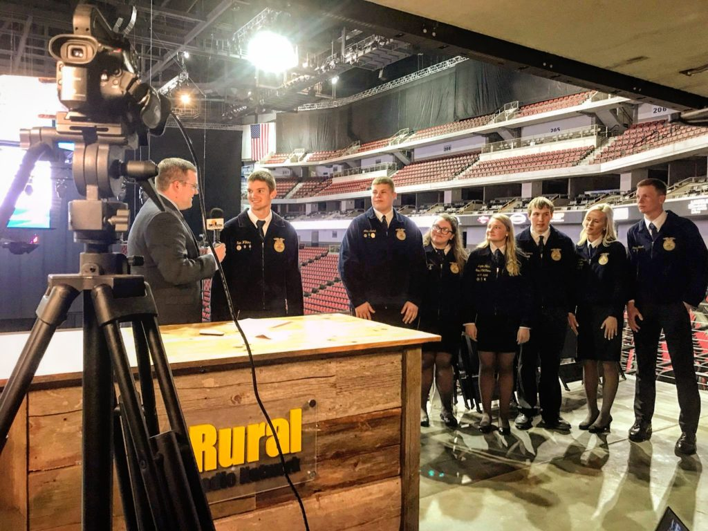 (Video) 2019-20 Nebraska FFA Officer Team Selected at 91st Nebraska FFA Convention