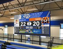Kearney High Receives New Scoreboard