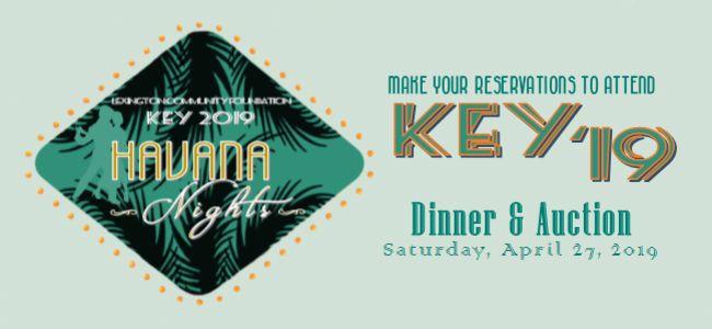Lexington Foundation's 18th Annual Key Event Is Saturday