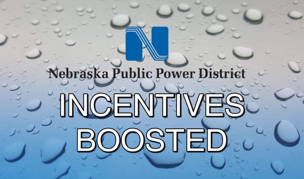 NPPD increasing incentives to help with flood recovery