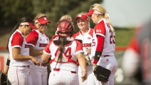 Husker Softball splits Doubleheader with Hawkeyes