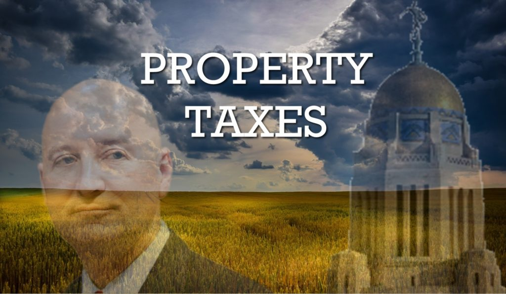 Nebraska lawmakers sharply divided over property tax bill