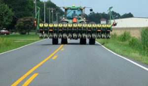 As Ag Implements Hit the Road, Drivers Reminded to Stay Alert