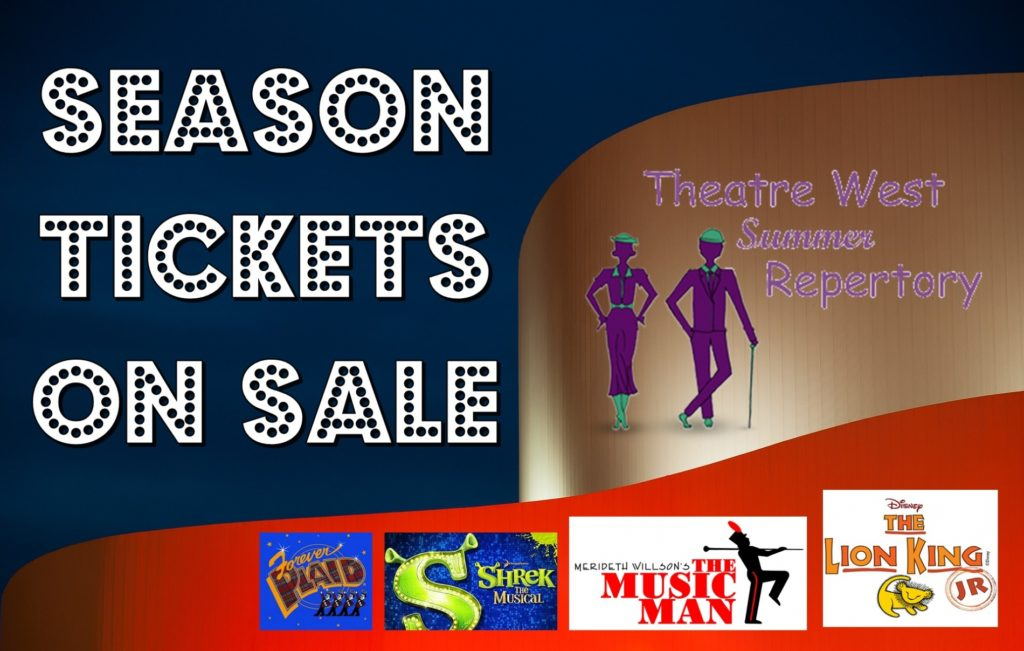 Theatre West Season Tickets Now On Sale