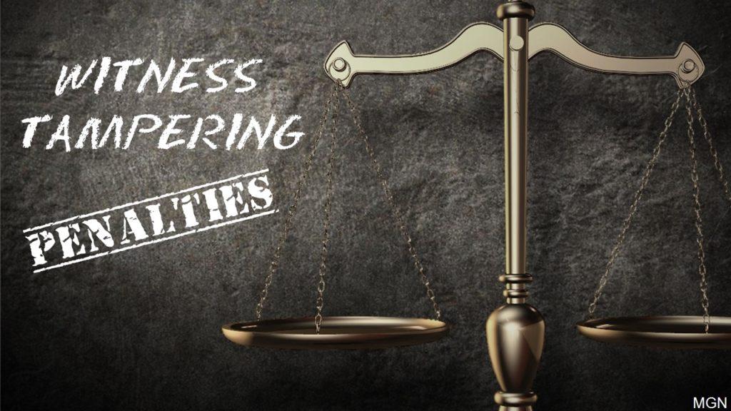 Senators advance tougher penalties for witness tampering