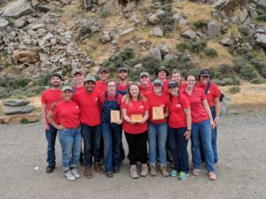Soil Judging Team earns bronze at nationals