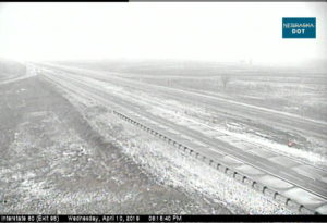 I-80 Westbound now closed at North Platte