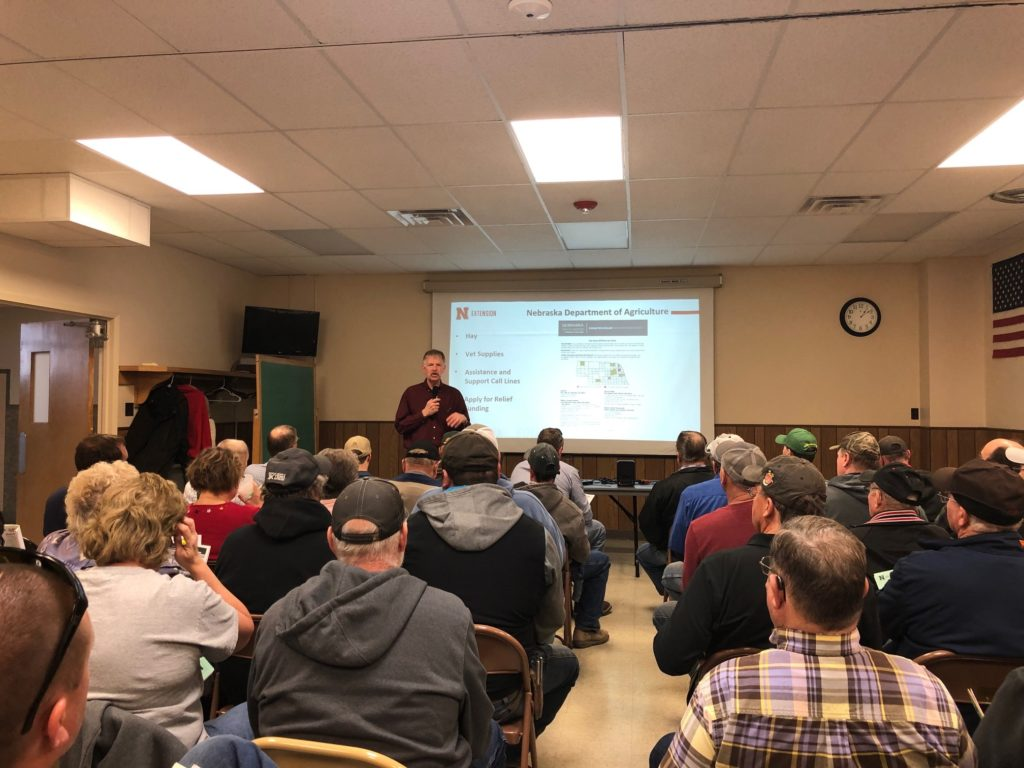 Area Agencies Discuss Flood Relief Available In West Point