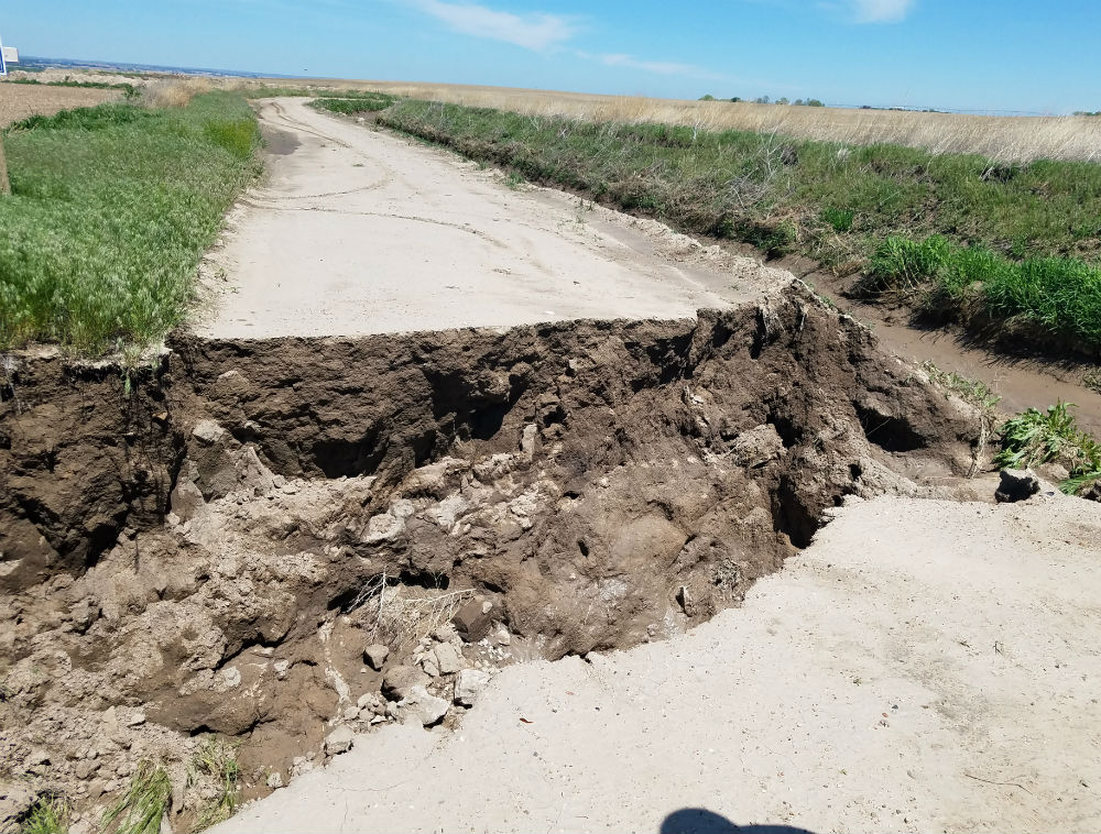 Ag producers faced with road damage after Bomb Cyclone and storms