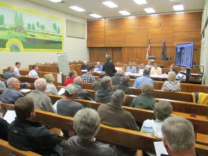 Wind Turbine Zoning Change Approved By Cuming County Planning Commission