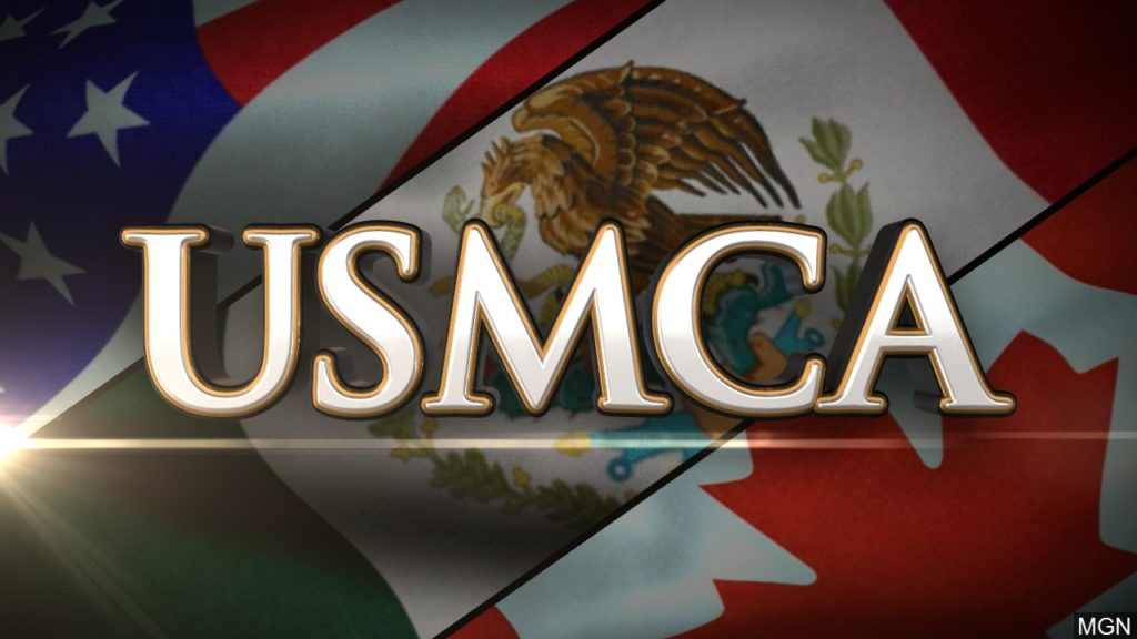 BACON URGES HOUSE TO SUPPORT USMCA