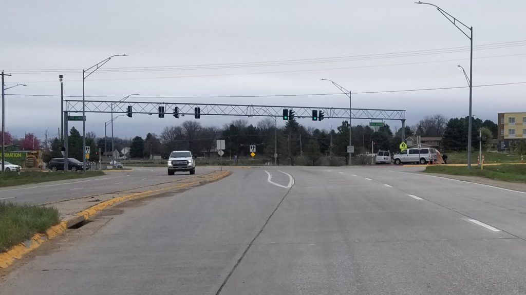 Busy Scottsbluff intersection returns to normal