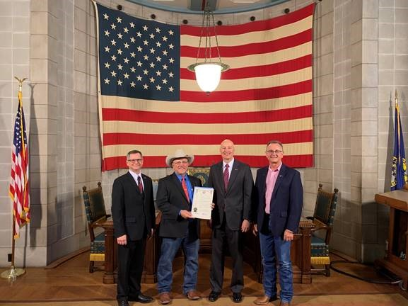 (Video) Gov. Ricketts Proclaims May as Beef Month in Nebraska