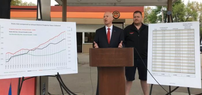 Ricketts blasts proposed sales tax increase on car repairs