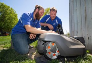 Futuristic lawn care: UNK using technology to tackle yardwork