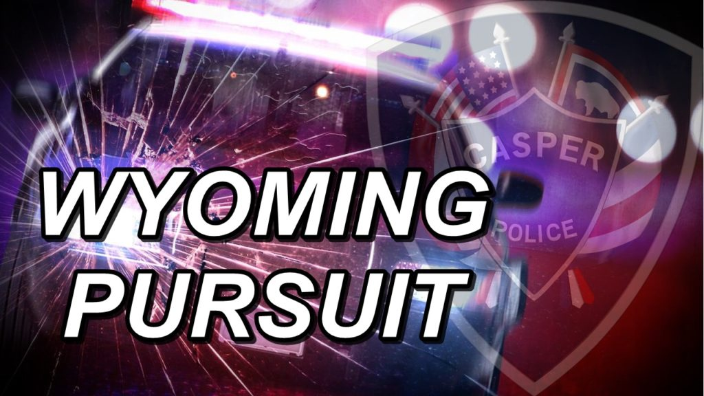 Man dead after Wyoming police pursuit