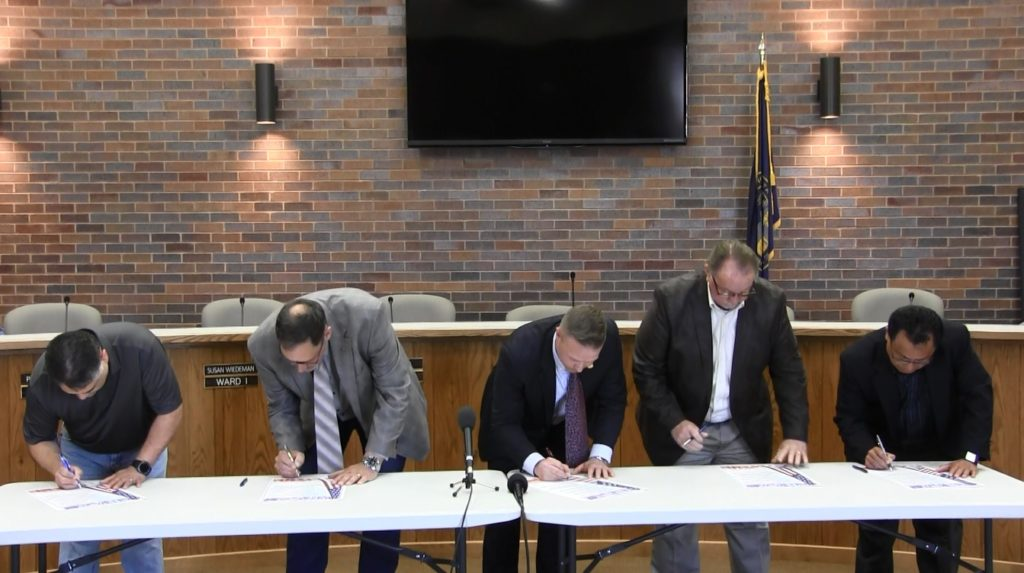 "Local Officials Sign ""Day of Prayer"" Proclamation"