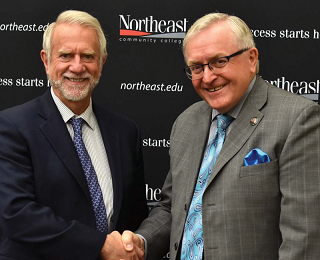 Doane, Northeast Community College Sign Institutional Agreement