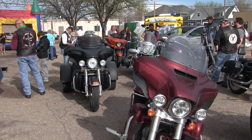 Eagle Riders kick off annual ride raising child mental health awareness