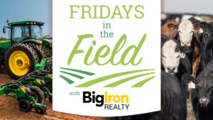 Big Iron Realty's Friday's In The Field *AUDIO/VIDEO*