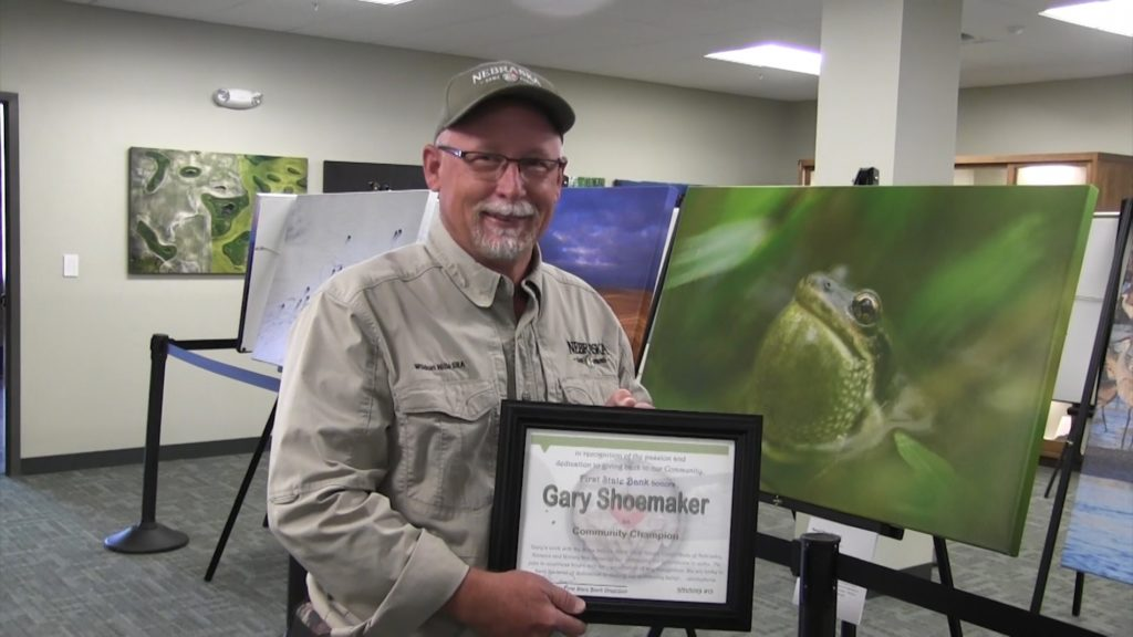 Gary Shoemaker named First State Bank Community Champion