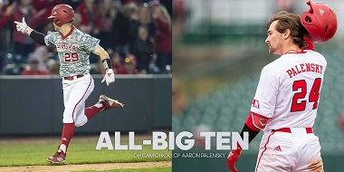 Palensky, Chick Receive All-Big Ten Status