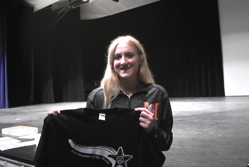 Mitchell Senior Jessica Cotant named PVC Star Student of the Week