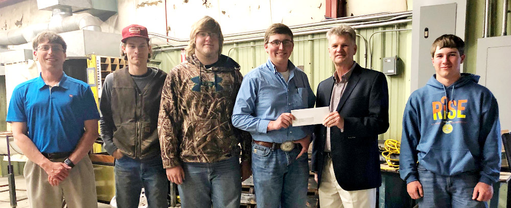 WESTCO, Land O'Lakes Foundation support Morrill FFA welding program