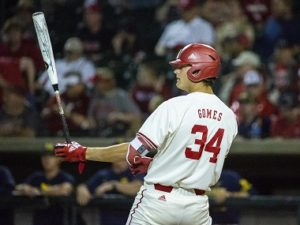 Huskers split doubleheader with Wolverines to conclude regular season