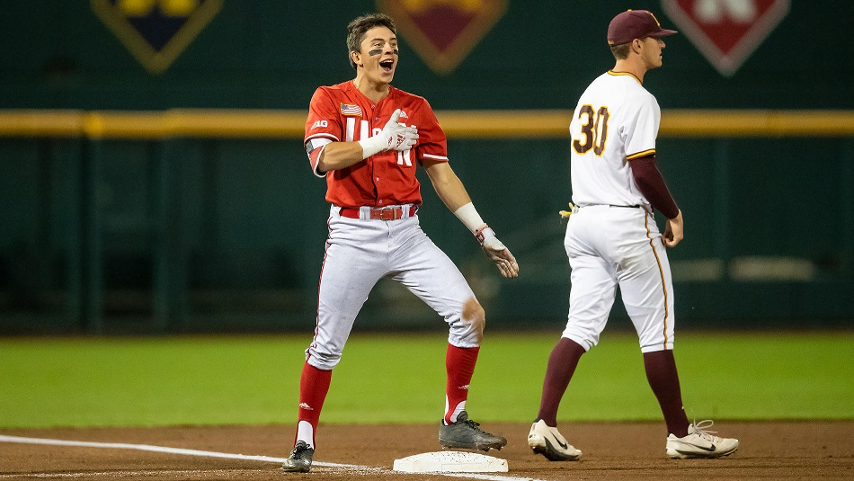Huskers Open Big Ten Tournament With Big Win