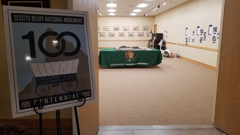 Legacy of the Plains hosting Scotts Bluff Monument Centennial exhibit