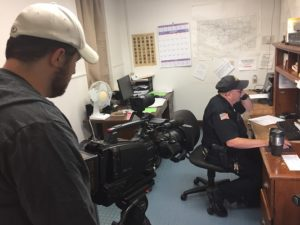 Small Town Cops filming in Mitchell NE