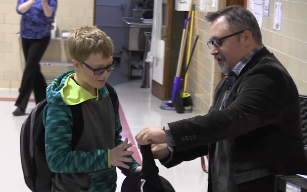 Community Christian School's Tyler Fogle named PVC Star Student of the Week