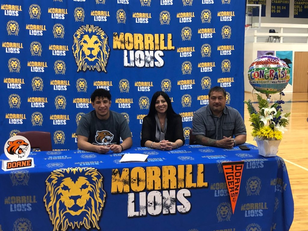 Morrill state champ, Garcia, to wrestle at Doane