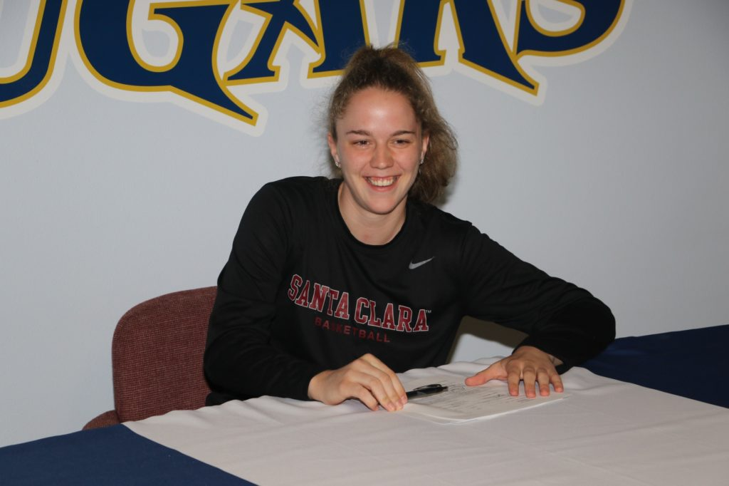 WNCC's Merle Wiehl signs to play at Division I Santa Clara