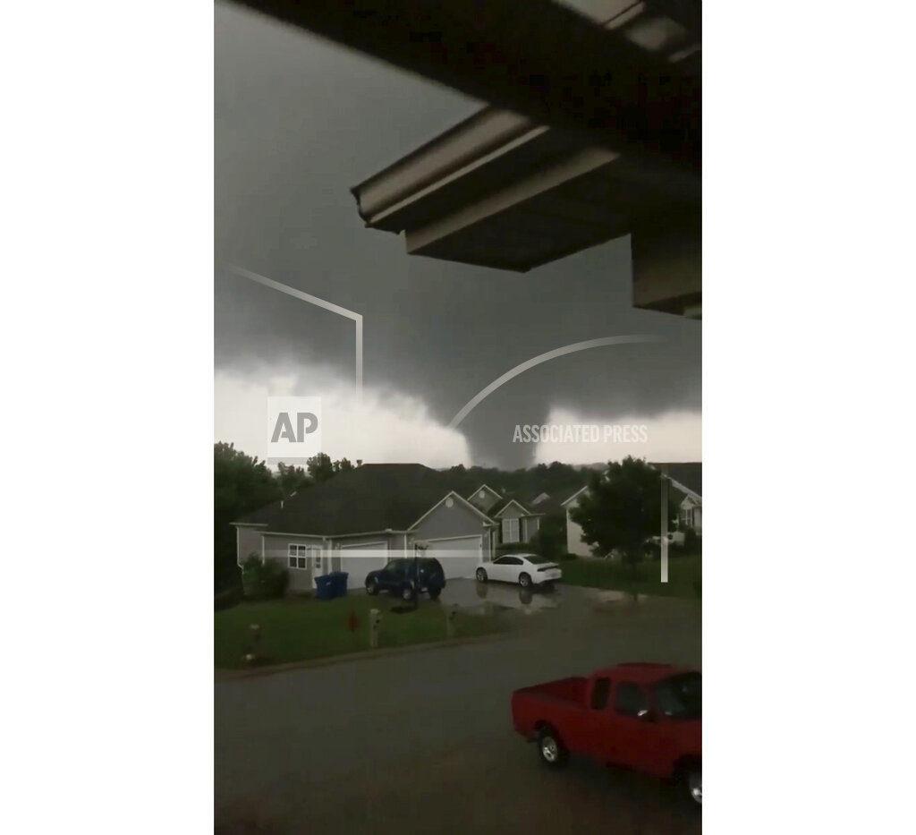 Violent Tornado Touches Down In Jefferson City