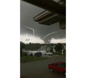 Violent Tornado Touches Down In Jefferson City