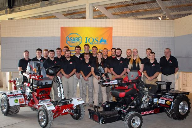 (Audio) UNL Students Claim International Tractor Design Title