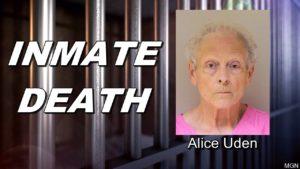 Elderly Wyoming inmate convicted of killing husband dies