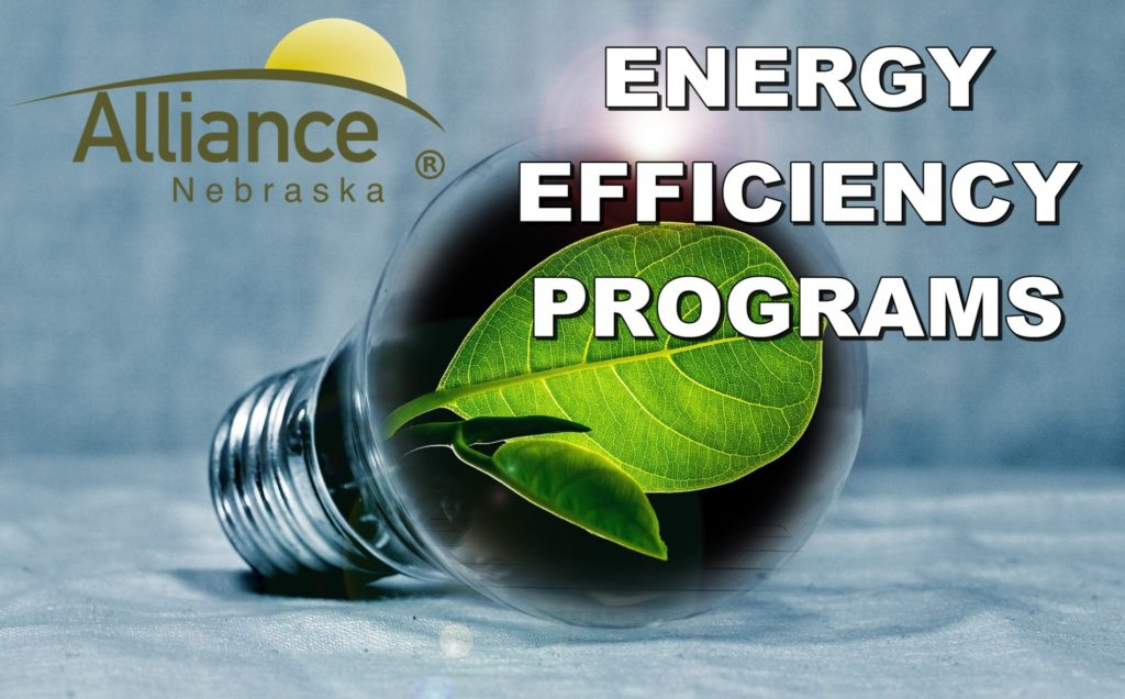 City of Alliance offers Energy Efficiency Programs