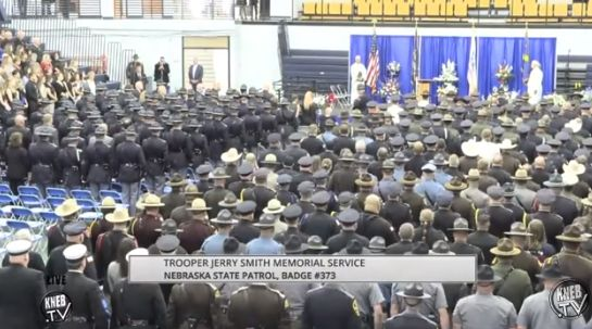 Trooper Jerry L. Smith honored in memorial service in Scottsbluff