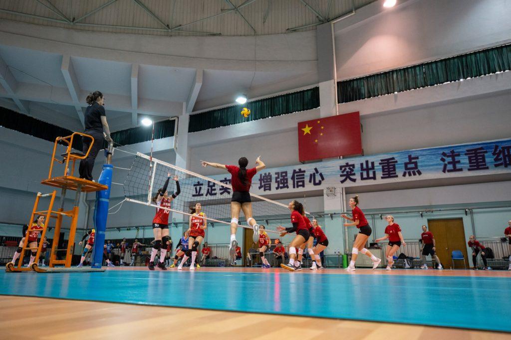 Huskers beat Shanghai Bright Ubest, 3-2