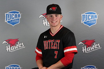 Northeast's Smith honored as NJCAA DII Baseball Player of the Year