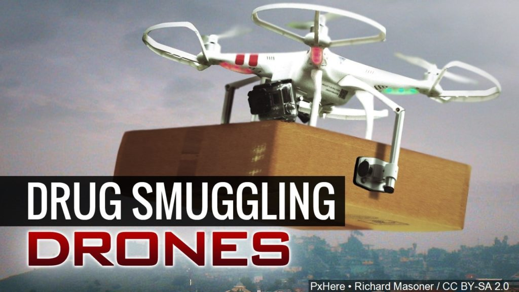 Ex-inmate accused trying to use drone to deliver drugs