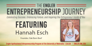 Engler Entrepreneurship Journey: Hannah Esch