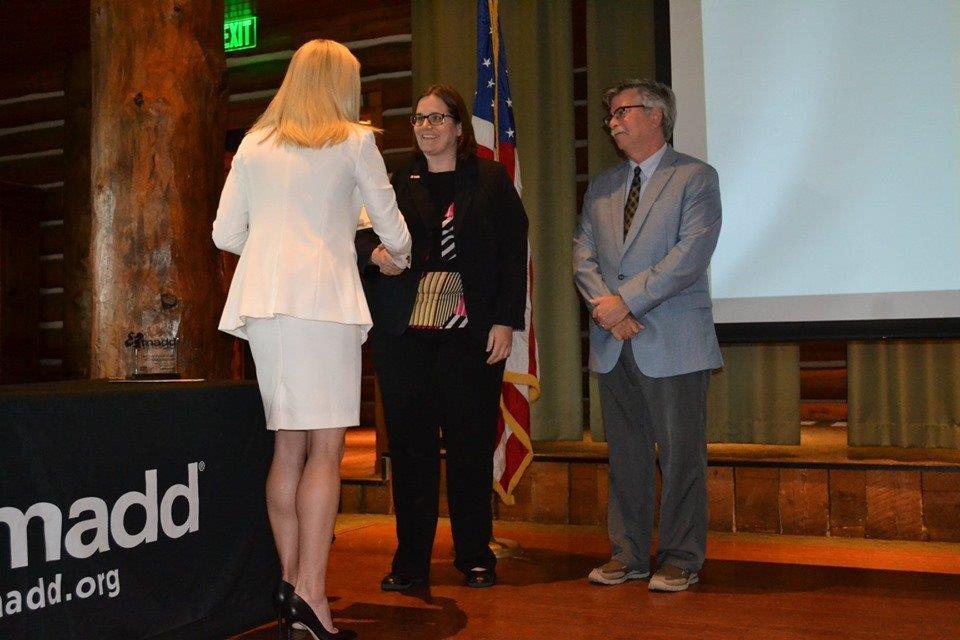 Local Prosecutor Receives MADD Hero Award